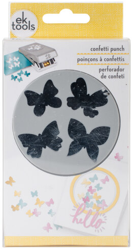 EK Success Large Punch - Confetti Butterfly