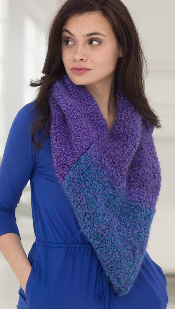 Twilight Cowl In Lion Brand Homespun Thick Amp Quick
