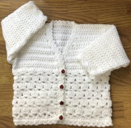 Lovely Patterned Cardigan for Baby or Child (1035)