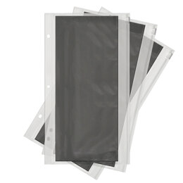"""We R Memory Keepers We R Die Storage Album Pouches 3/Pkg - 6""""X12"""", For 662595"""