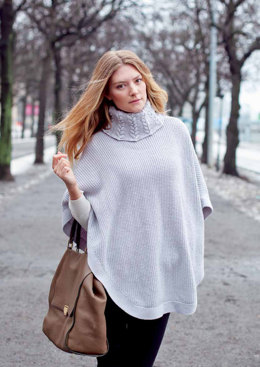 Madicken Cape in MillaMia Naturally Soft Merino - Downloadable PDF