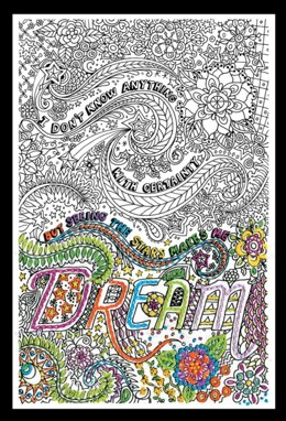 Design Works Dream Zenbroidery Kit - Multi