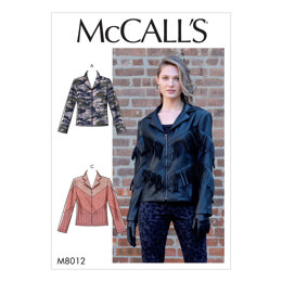 McCall's Misses' Jackets M8012 - Sewing Pattern