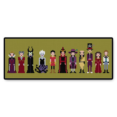 Storybook Villains - PDF Cross Stitch Pattern