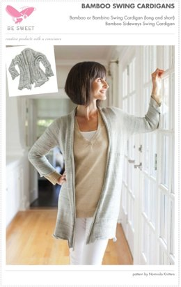 Bamboo Swing Cardigan in Be Sweet Bamboo