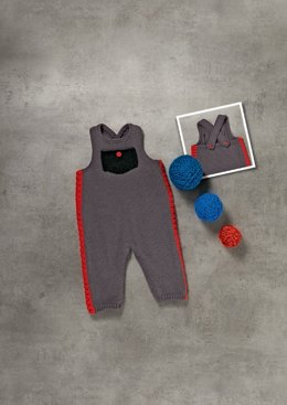 Children's Dungarees in Bergere de France Caline - 42694