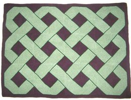 Celtic Knot Blanket/Throw/Cushion