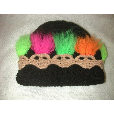 Troll Beanie and Head Warmer