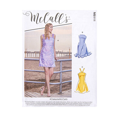 McCall's Misses' Dresses M8111 - Sewing Pattern