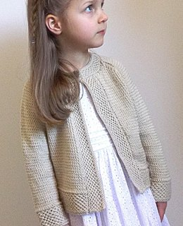 Baby - Girls textured raglan sleeve jacket P045
