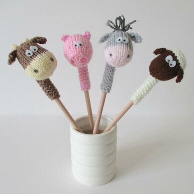 Farmyard Pencil Toppers