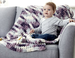 Baby Blanket in Bernat Alize Blanket-EZ - Downloadable PDF