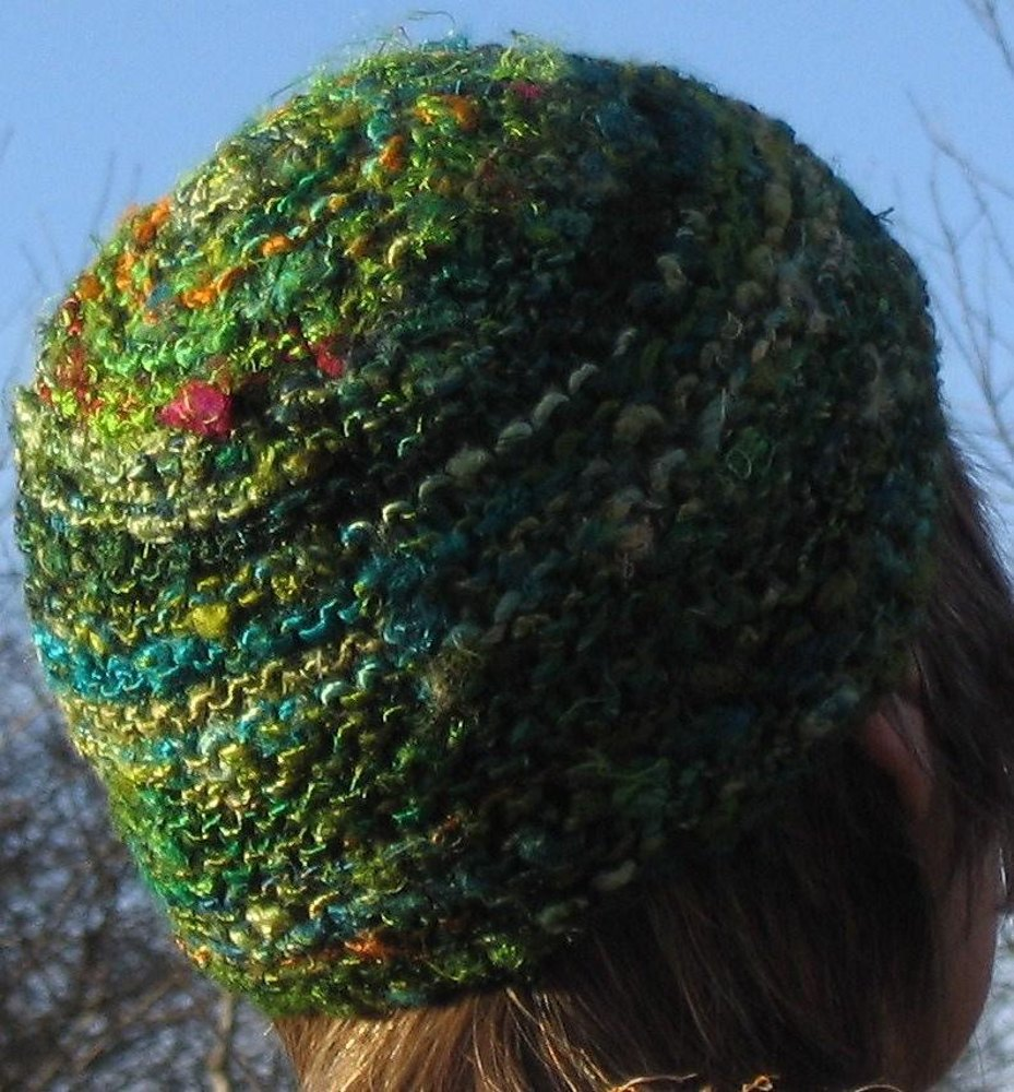 Recycled silk or silk and banana fibre beanie knitting pattern by zoom bankloansurffo Gallery