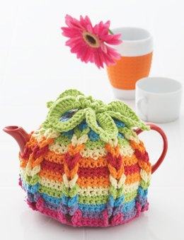 Hot Hibiscus Tea Cozy in Lily Sugar 'n Cream Scents