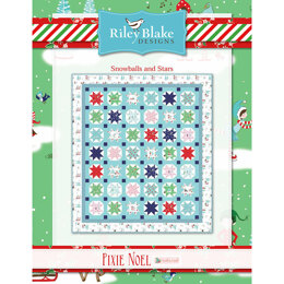 Riley Blake Snowballs and Stars - Downloadable PDF
