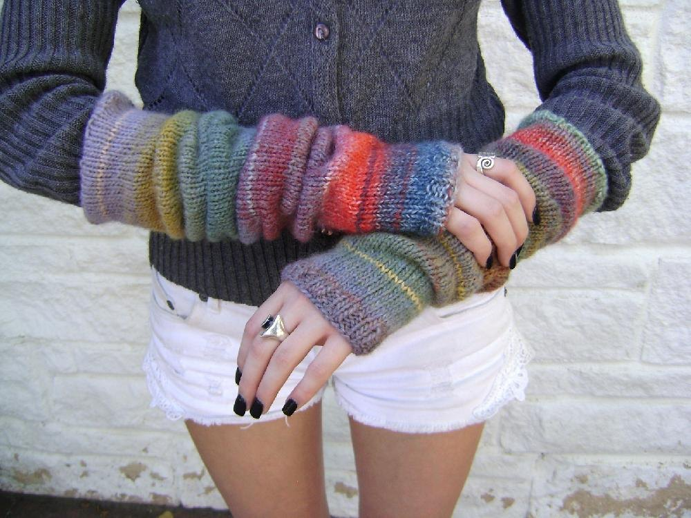 Stylecraft Knitting Pattern Errors : Knitted Arm Warmers Knitting pattern by Creative Designs ...