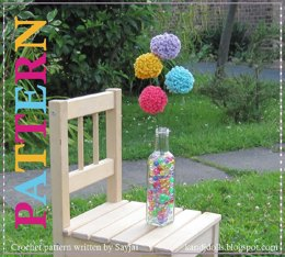 Ball Flowers Free Crochet Pattern