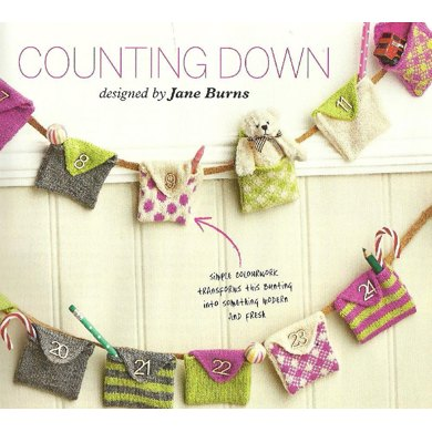 Counting Down to Christmas Advent Knitted Bunting