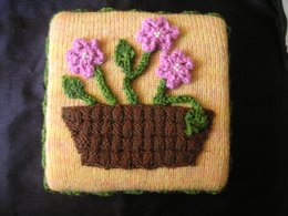 Basket of Flowers Pillow