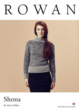 Shona Sweater in Rowan Pure Wool Worsted