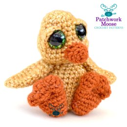 Amigurumi Easter Chick Pattern - Errol