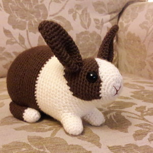 Velvet Bunny Amigurumi Free Crochet Pattern - Crochet For You | 300x300