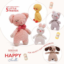 Happy Chenille - 04 - Little Friends by Sirdar