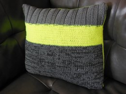 """Sunshine on a Cloudy Day"" cushion cover"