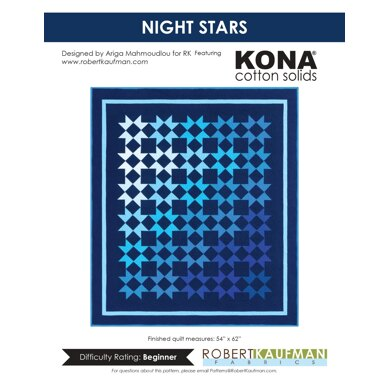 Robert Kaufman Night Stars - Downloadable PDF