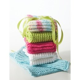 Double Thick Dishcloth in Lily Sugar 'n Cream Solids