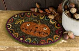 Threads That Bind Prize Pumpkin with Printed Weaver's Cloth - TTB638 - Leaflet