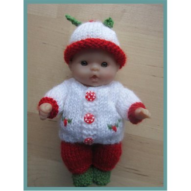 Berenguer Doll Boy Holly Outfit