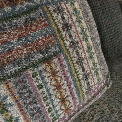 Fairisle Abstract Cushion