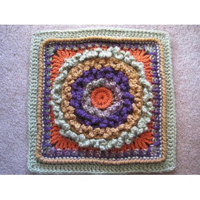 Loopy Dishcloth or Afghan Square