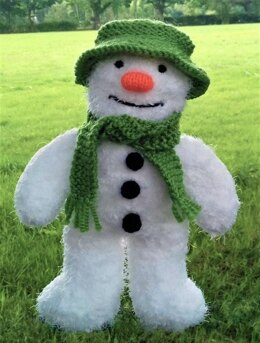 Traditional Snowman Toy