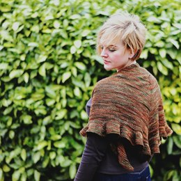 Autumn Waltz Shawl