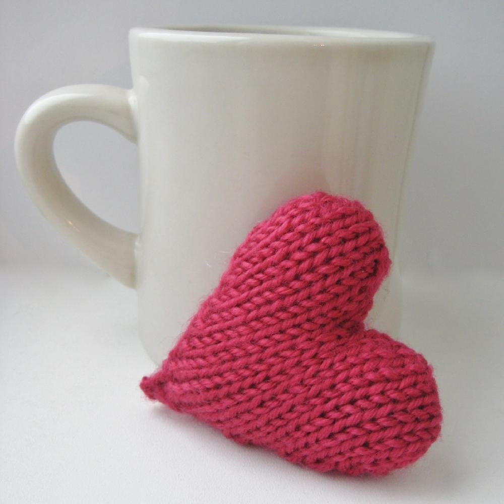 Love Heart Knitting pattern by Amanda Berry | Knitting Patterns ...