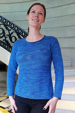 Lightly Flared Sweater to Knit