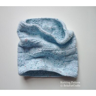 Baby Squares Cowl