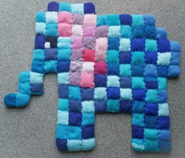 Elephant mat for baby or dog