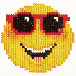 Diamond Dotz Smiling Face Embroidery Kit