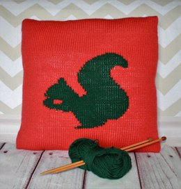 Sid the Squirrel Cushion Cover