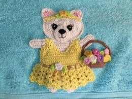 Teddy Bear with Dress and Accessories