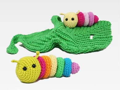 Lovey - Little Caterpillar (+ rattle)