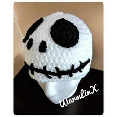 Jack Skellington Inspired Crochet Hat Crochet Pattern By Warmlinx