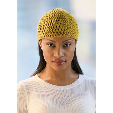 Crochet Beanie in Blue Sky Fibers Worsted Cotton