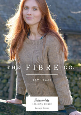 Galleny Force Pullover in The Fibre Co. Lore - Downloadable PDF