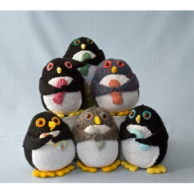 The Penguins Knitting Pattern By Liz Wray Crochet Patterns