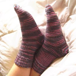 Afterthought Socks in Madelinetosh Tosh Sock