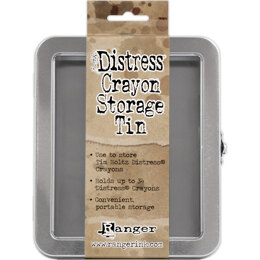 Ranger Tim Holtz Distress Crayon Tin - Empty - 395424